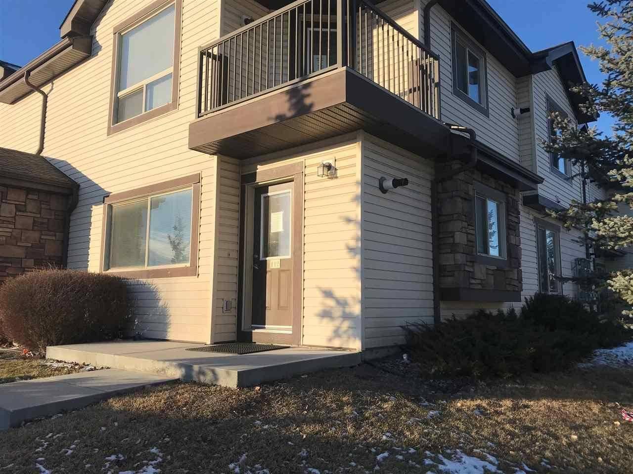Townhouse for sale at 604 62 St Sw Unit 112 Edmonton Alberta - MLS: E4181484