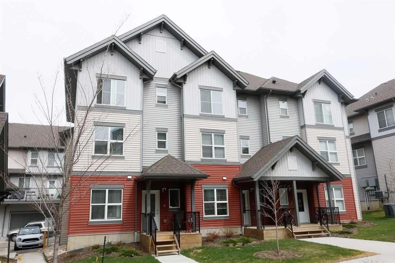 Townhouse for sale at 655 Watt Bv SW Unit 112 Edmonton Alberta - MLS: E4196861