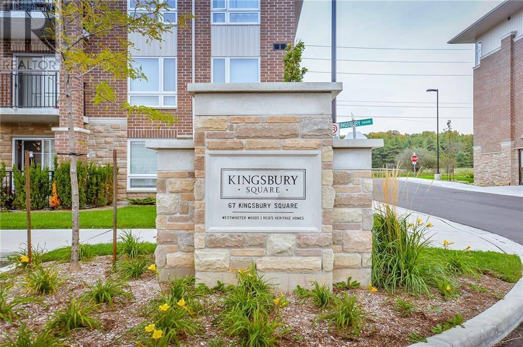 Condo for sale at 67 Kingsbury Sq Unit 112 Guelph Ontario - MLS: 30783578