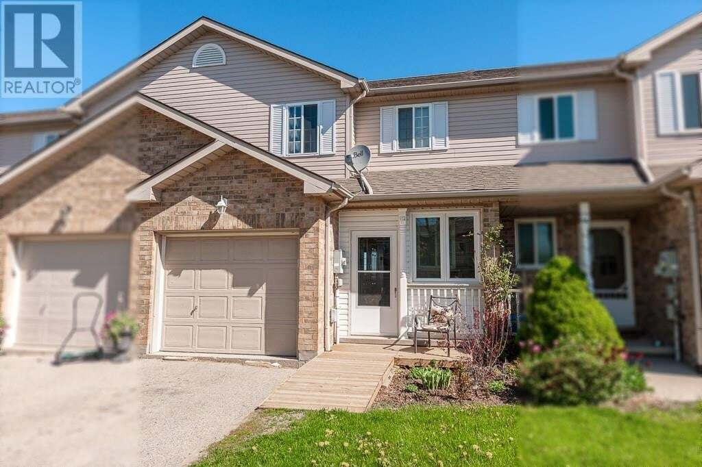 Townhouse for sale at 112 Athlone Cres Stratford Ontario - MLS: 30807940