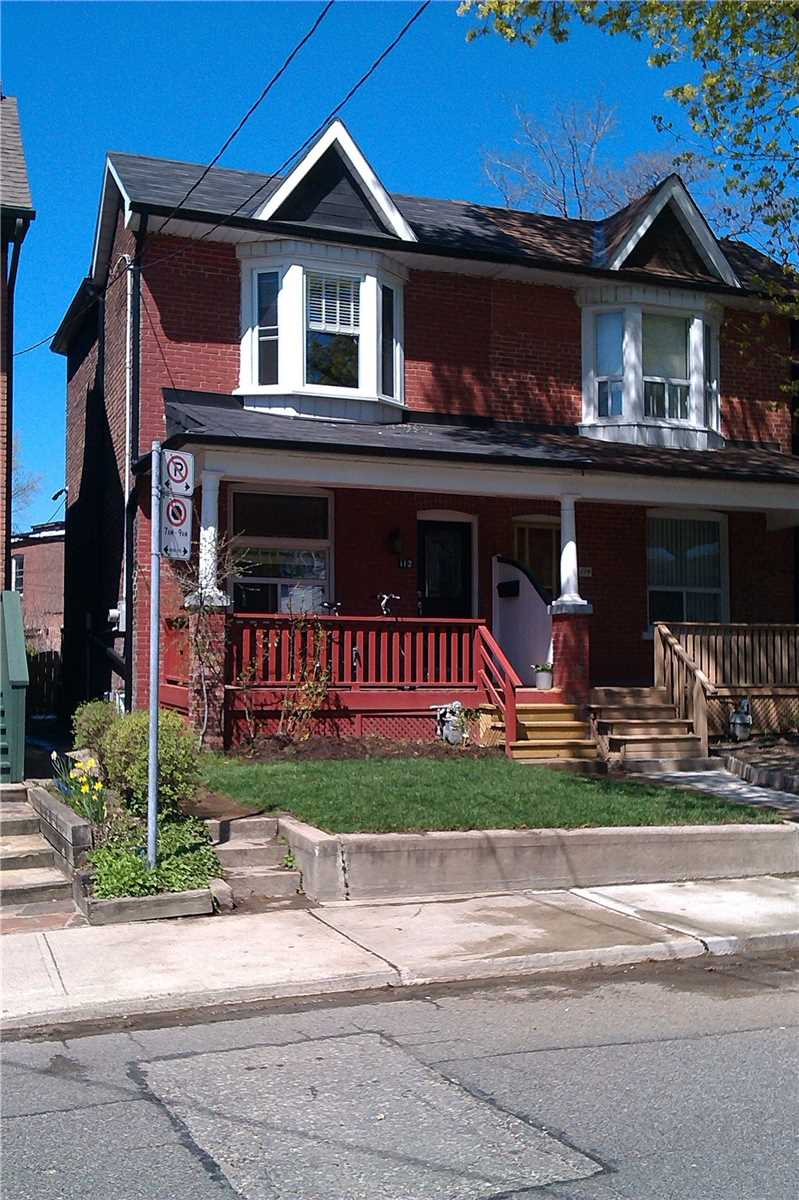 For Rent: 112 Cambridge Avenue, Toronto, ON | 3 Bed, 2 Bath Townhouse for $3600.00. See 10 photos!