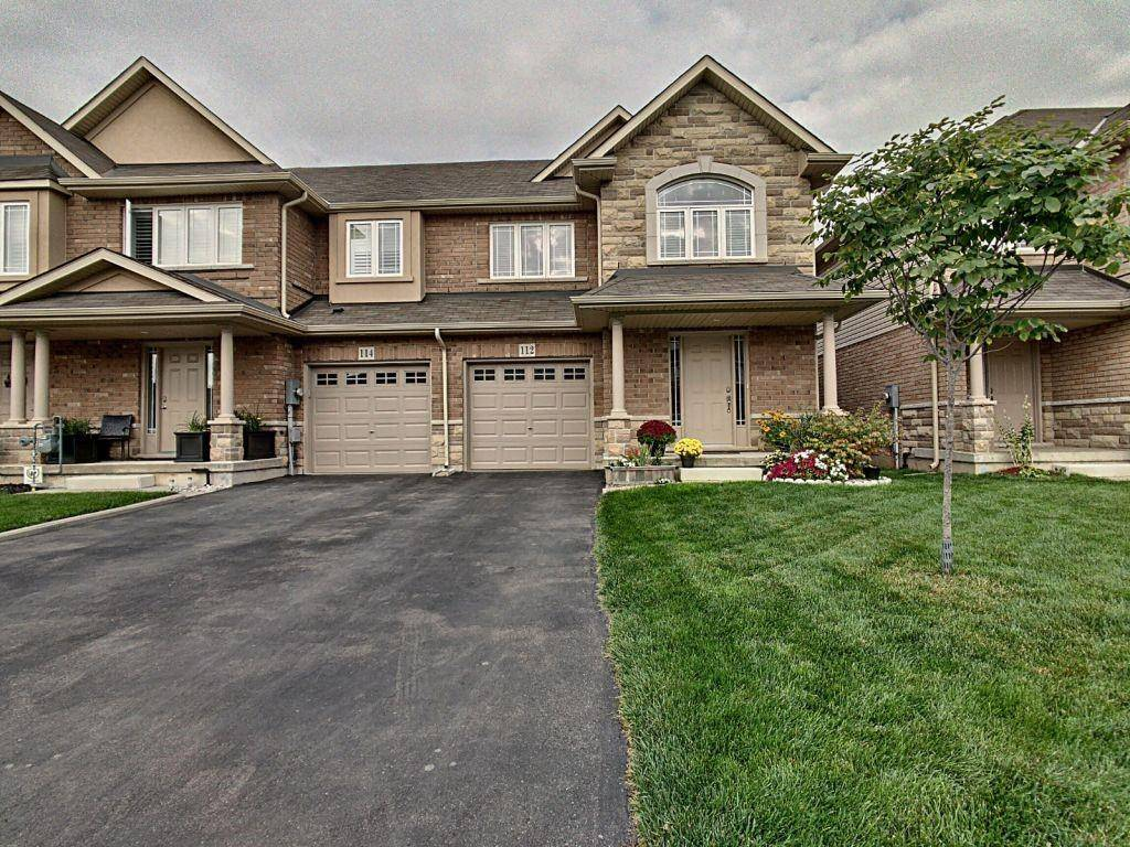 Townhouse for sale at 112 Charleswood Cres Stoney Creek Ontario - MLS: H4063230