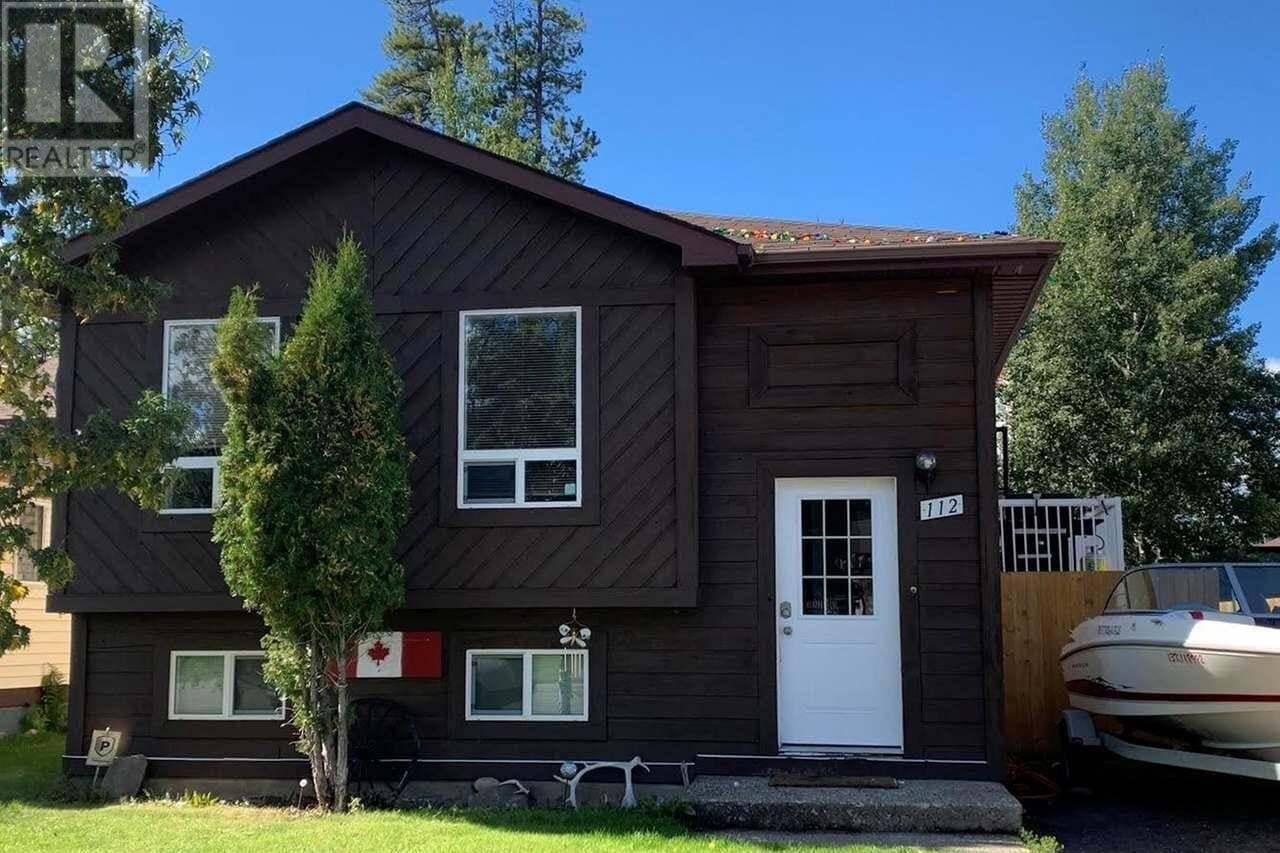 House for sale at 112 Fellers Ave Tumbler Ridge British Columbia - MLS: 185683