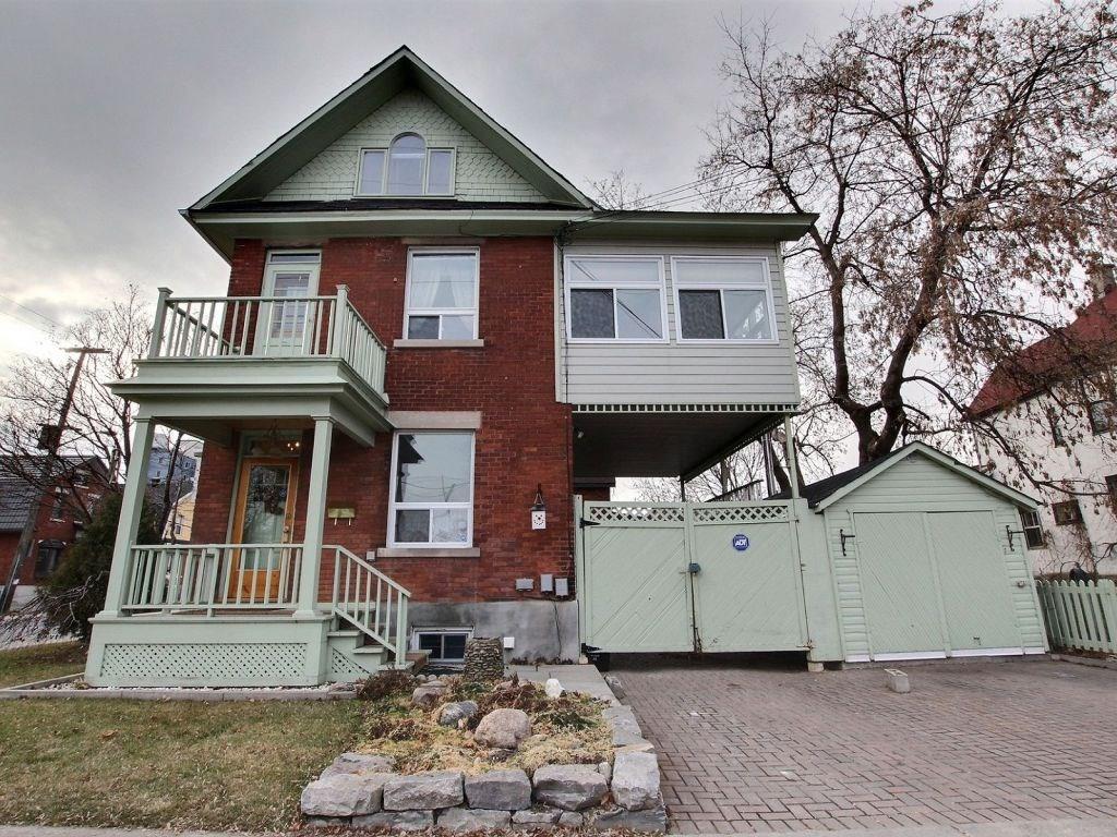 For Sale: 112 Hamilton Avenue N, Ottawa, ON   0 Bath Townhouse for $895,000. See 2 photos!