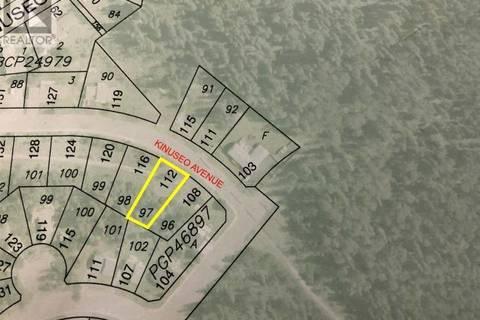 Home for sale at 112 Kinuseo Ave Tumbler Ridge British Columbia - MLS: 177370