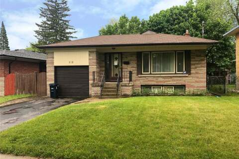 House for sale at 112 Perivale Cres Toronto Ontario - MLS: E4774851