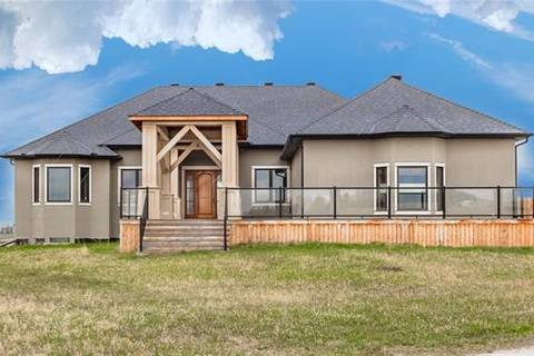 House for sale at 112082 273 Ave East Rural Foothills County Alberta - MLS: C4242779