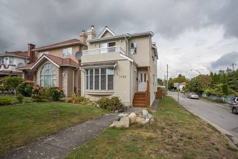 House for sale at 1121 27th Ave E Vancouver British Columbia - MLS: R2403428