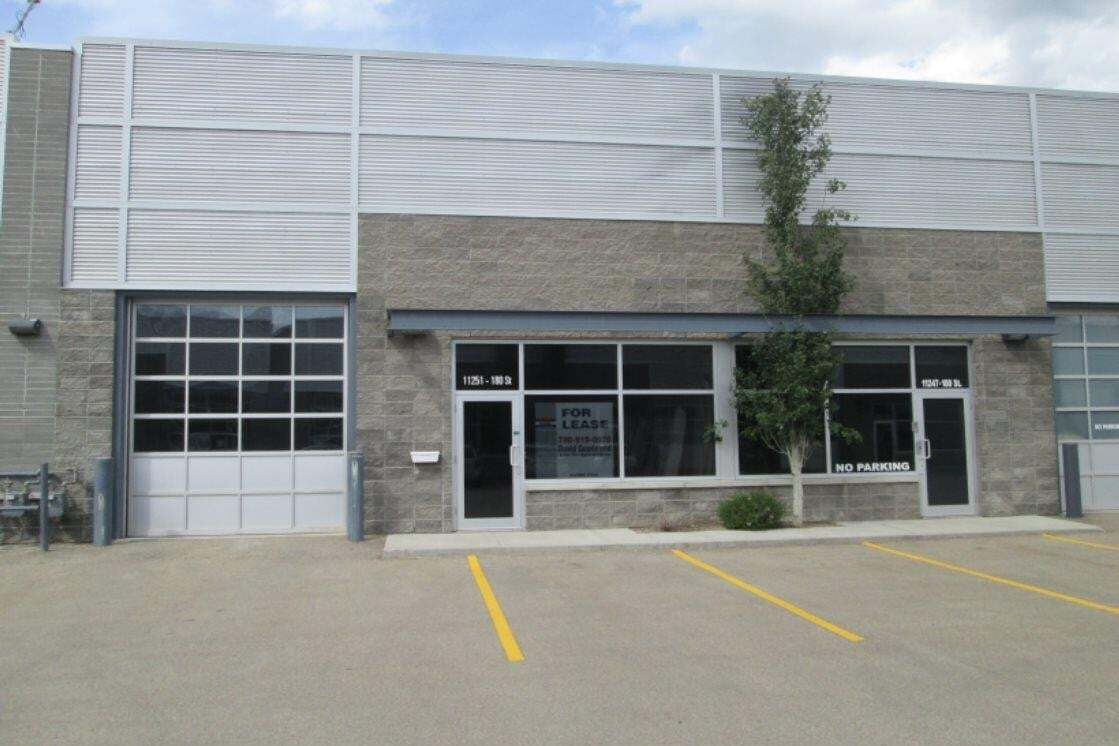 Commercial property for lease at 11251 180 St NW Edmonton Alberta - MLS: E4188702