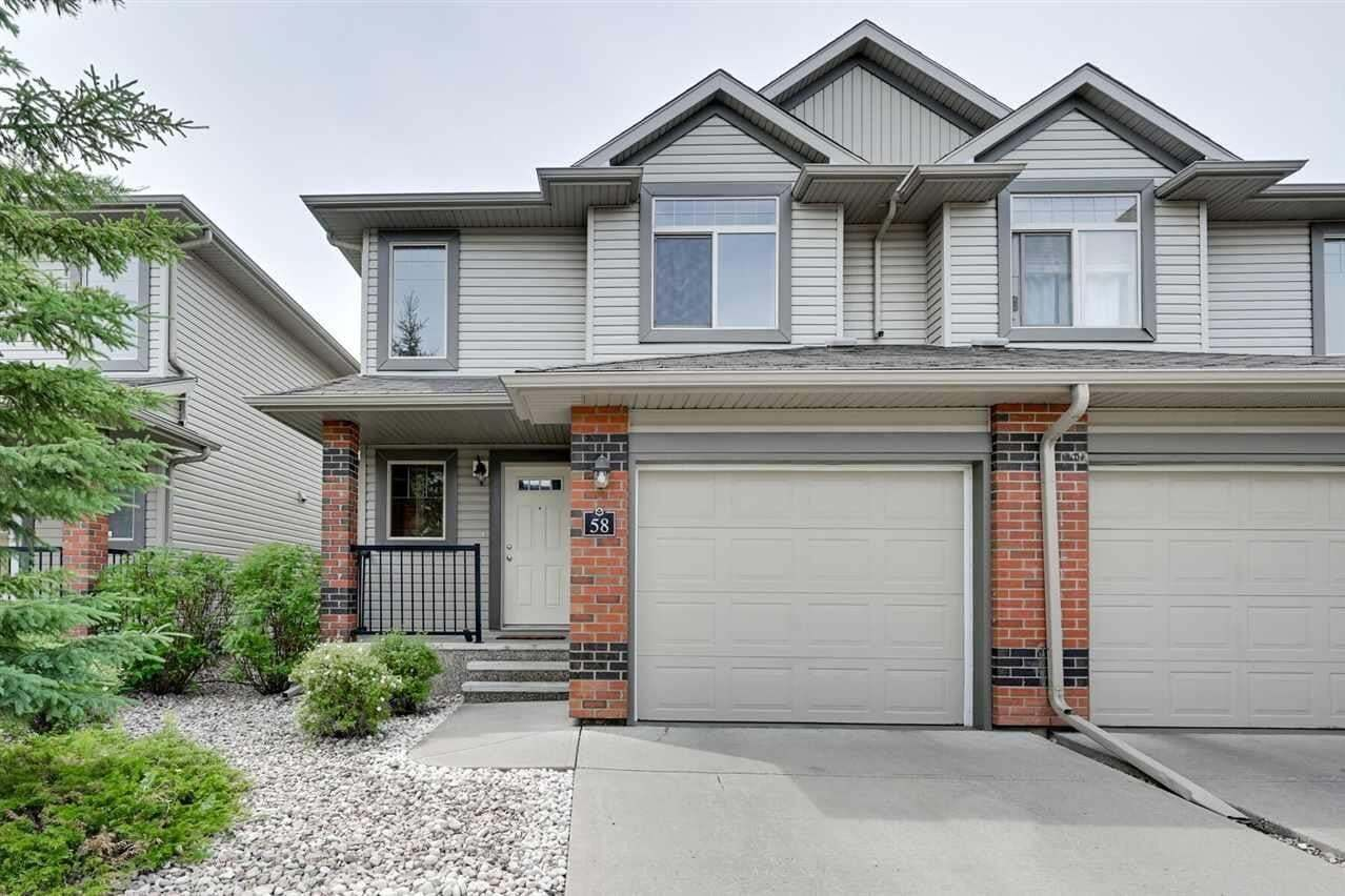 Townhouse for sale at 1128 156 St NW Edmonton Alberta - MLS: E4186768