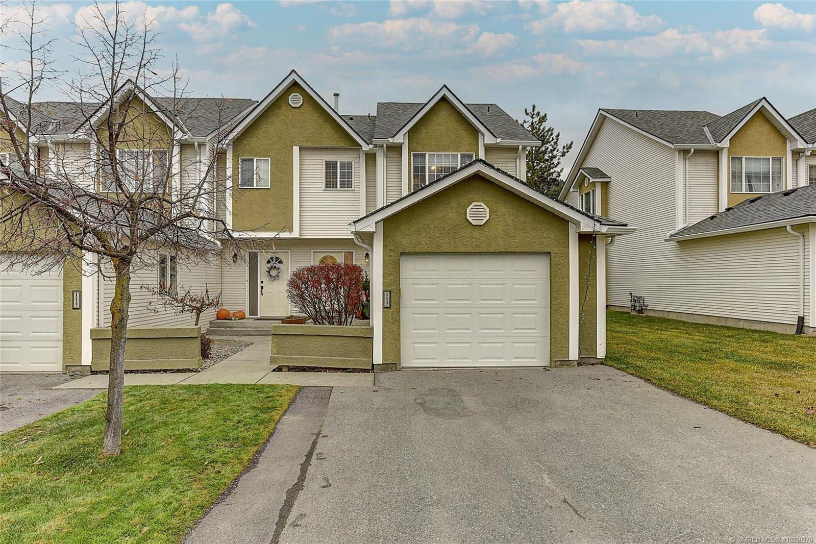 Townhouse for sale at 160 Celano Cres Unit 113 Kelowna British Columbia - MLS: 10220276