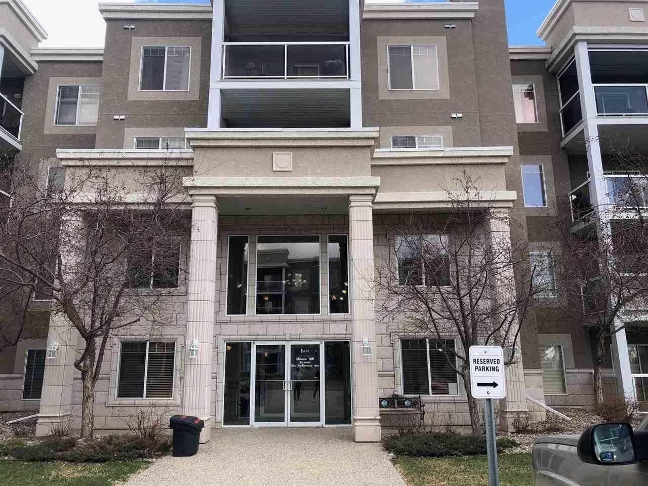 Condo for sale at 78 Mckenney Ave Unit 113 St. Albert Alberta - MLS: E4191136