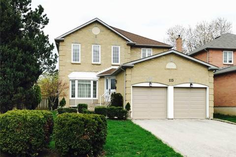 House for sale at 113 Captain Francis Dr Markham Ontario - MLS: N4448037