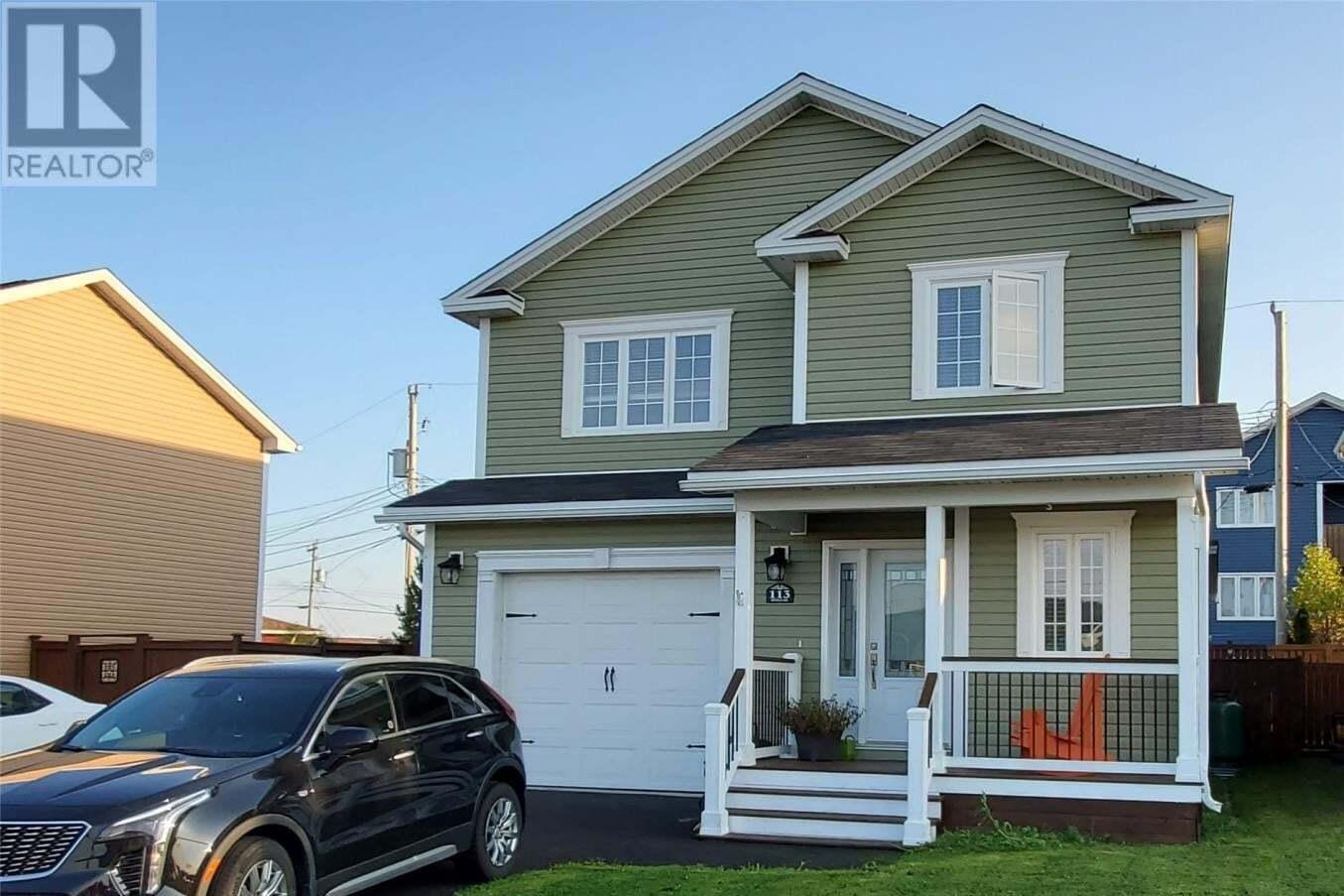 House for sale at 113 Castle Bridge Dr St. John's Newfoundland - MLS: 1221846