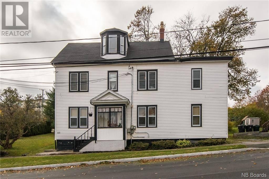 Townhouse for sale at 113 City Line Saint John New Brunswick - MLS: NB036439