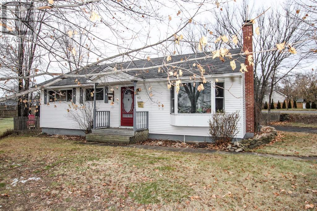 For Sale: 113 Fulton Avenue, Fredericton, NB | 3 Bed, 2 Bath House for $149,900. See 16 photos!