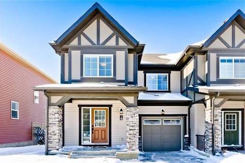 Townhouse for sale at 113 Hillcrest Gdns Southwest Airdrie Alberta - MLS: C4229491