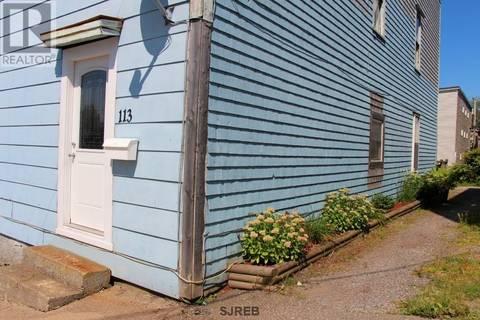 Townhouse for sale at 113 Metcalf  Saint John New Brunswick - MLS: NB019145