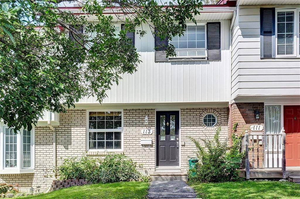 Townhouse for sale at 113 Monterey Dr Ottawa Ontario - MLS: 1168997