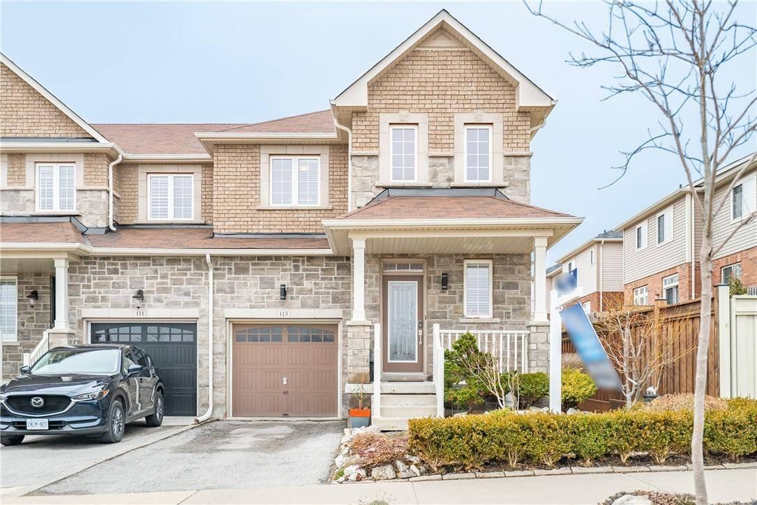 Townhouse for sale at 113 Sadielou Blvd Waterdown Ontario - MLS: H4075320