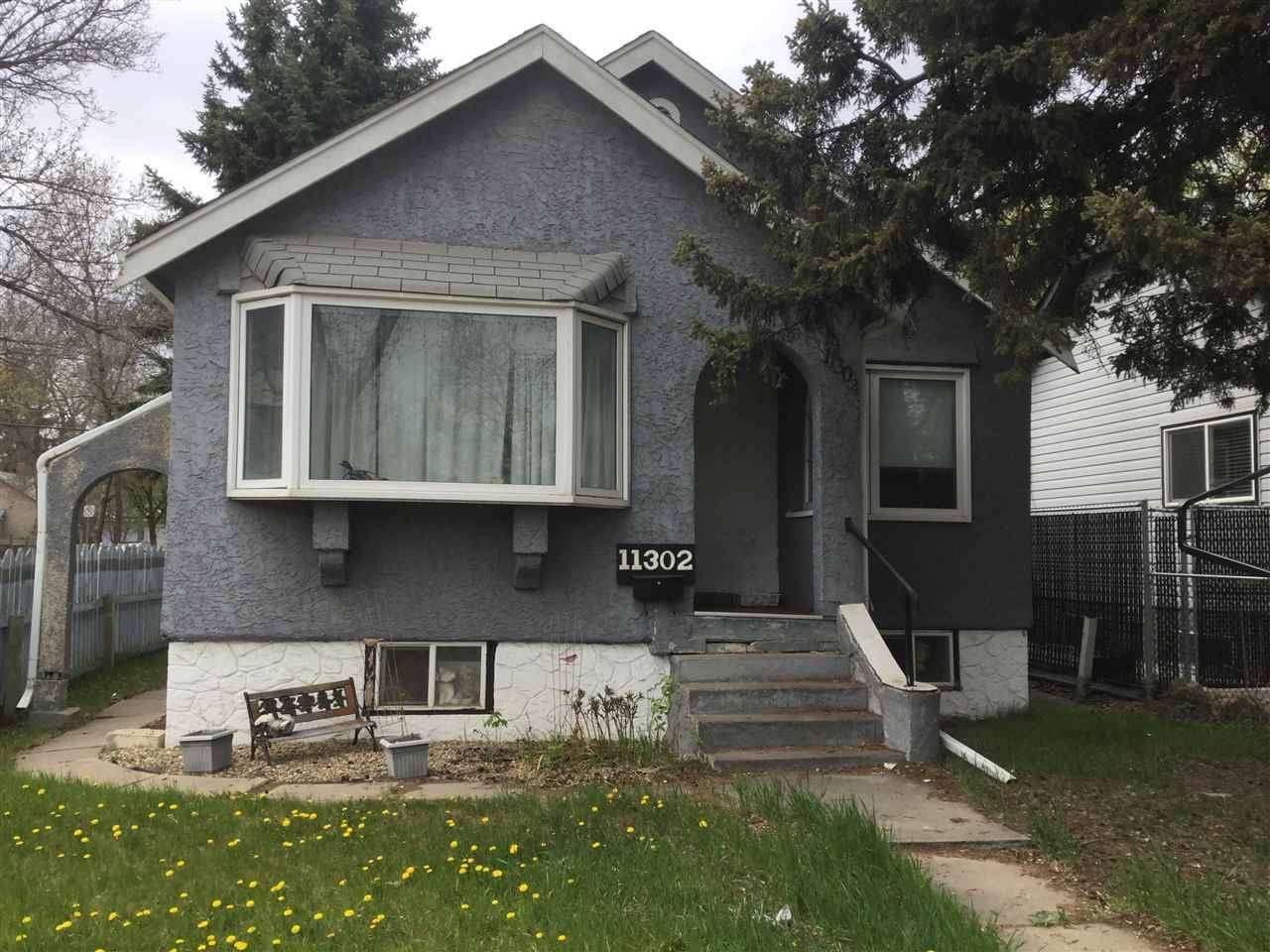House for sale at 11302 97 St Nw Edmonton Alberta - MLS: E4157061