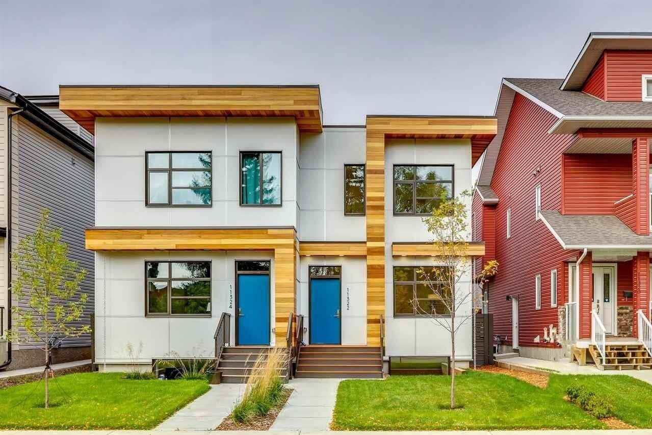 Townhouse for sale at 11322 78 Av NW Edmonton Alberta - MLS: E4214655
