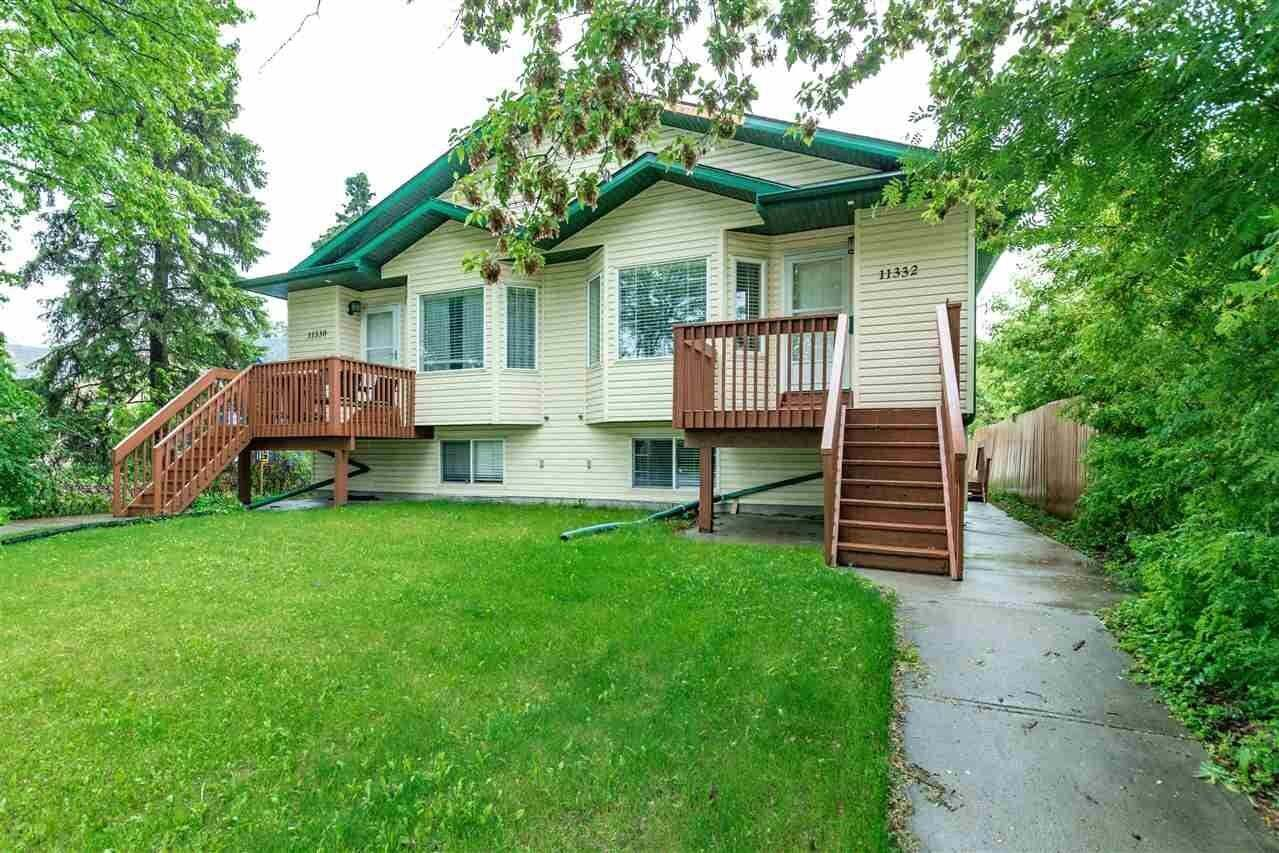 Townhouse for sale at 11332 101 St NW Edmonton Alberta - MLS: E4200647