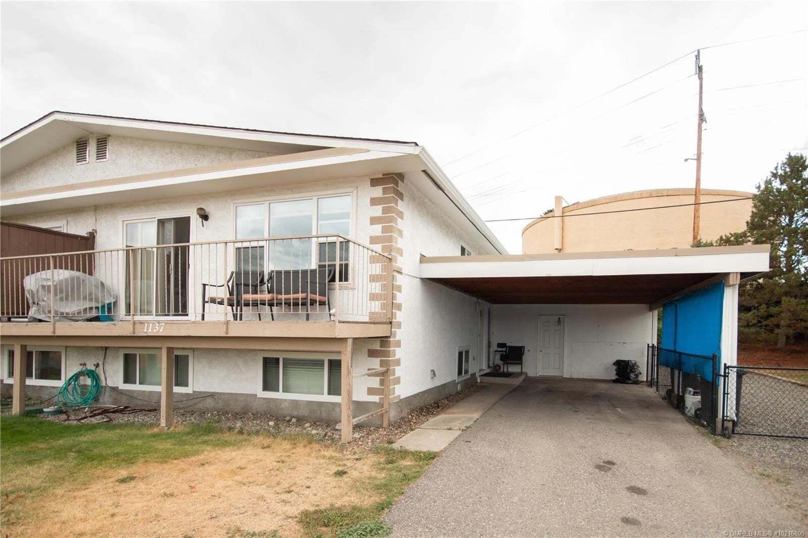 Townhouse for sale at 1137 Villa Vista Rd Kelowna British Columbia - MLS: 10216805