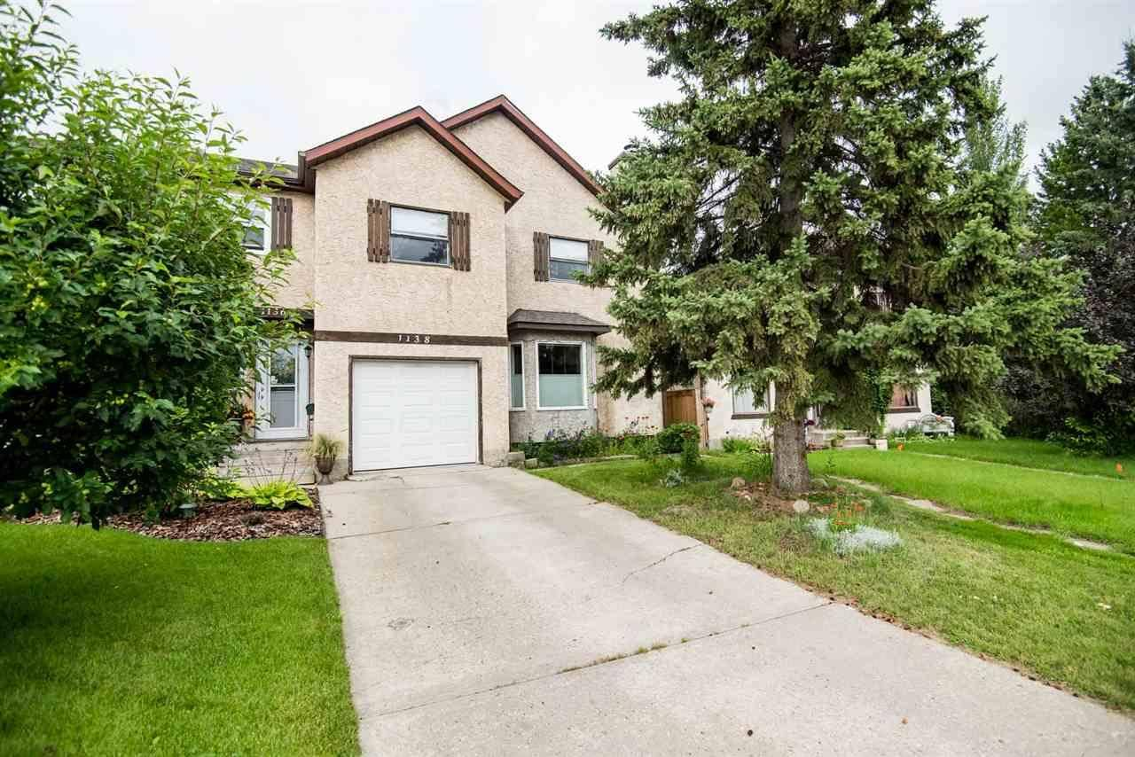 Townhouse for sale at 1138 62 St Nw Edmonton Alberta - MLS: E4168458