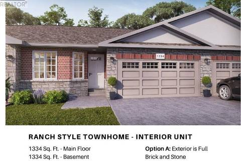 Townhouse for sale at 1139 Copeland  Windsor Ontario - MLS: 19020168