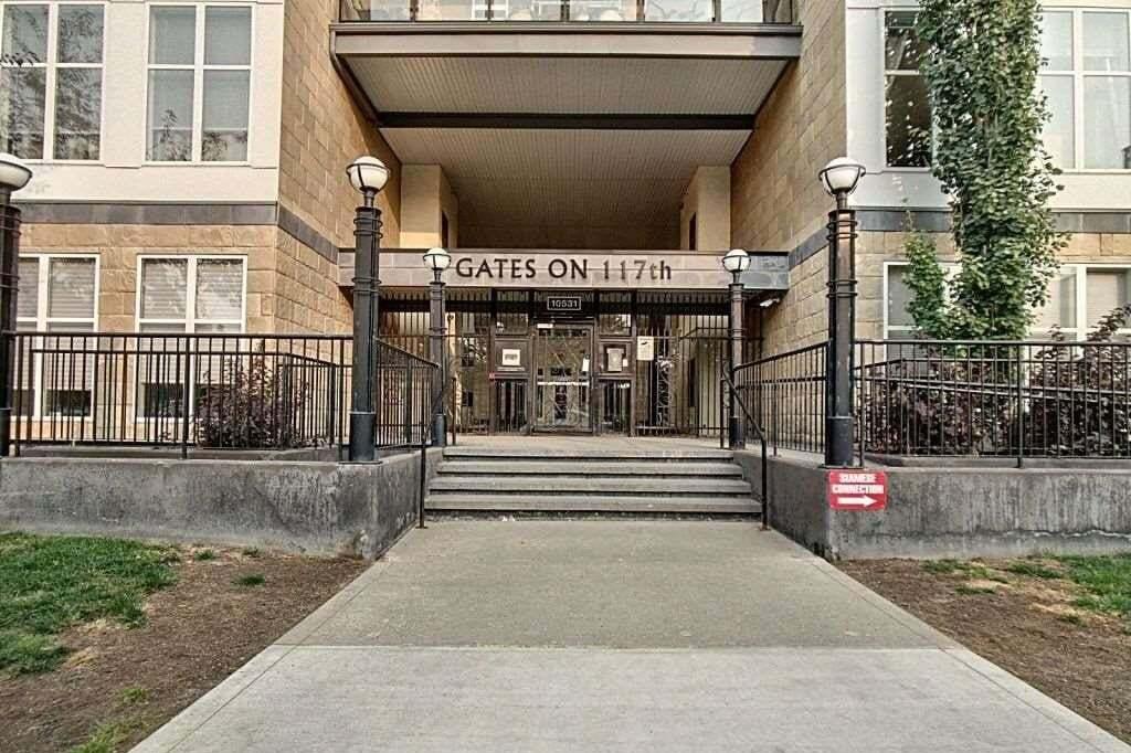 Condo for sale at 10531 117 St NW Unit 114 Edmonton Alberta - MLS: E4214972