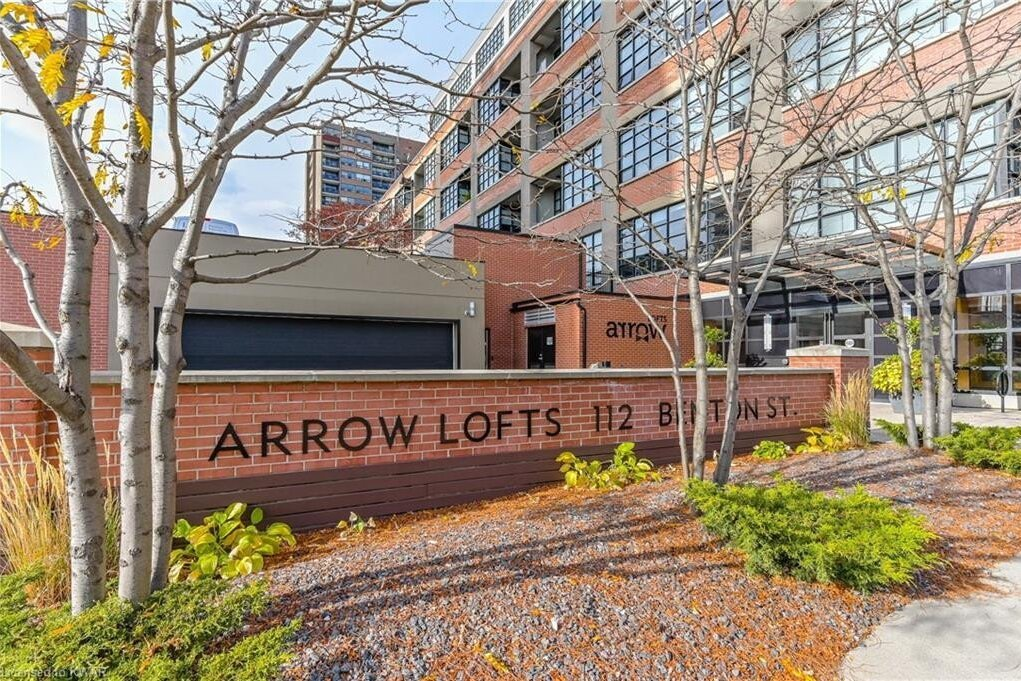Arrow Lofts Condos: 112 Benton Street, Kitchener, ON