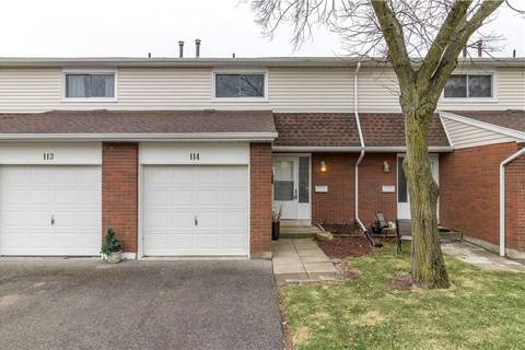 Townhouse for sale at 286 Cushman Rd Unit 114 St. Catharines Ontario - MLS: 30726165