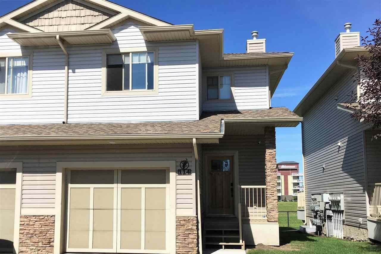 Townhouse for sale at 5420 Grant Macewan Bv Unit 114 Leduc Alberta - MLS: E4211484