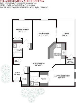 Condo for sale at 6000 Somervale Ct Southwest Unit 114 Calgary Alberta - MLS: C4279562
