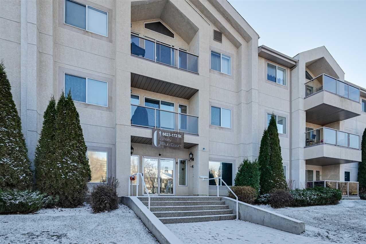 Condo for sale at 6623 172 St NW Unit 114 Edmonton Alberta - MLS: E4218781