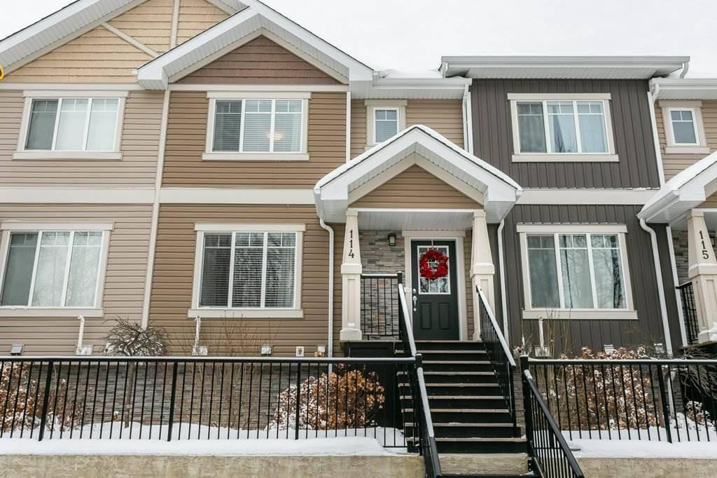 Townhouse for sale at 9535 217 St Nw Unit 114 Edmonton Alberta - MLS: E4184860