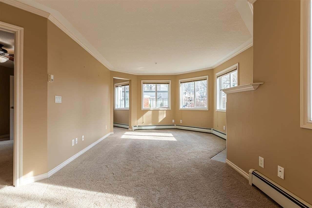 Condo for sale at 9938 104 St NW Unit 114 Edmonton Alberta - MLS: E4195043
