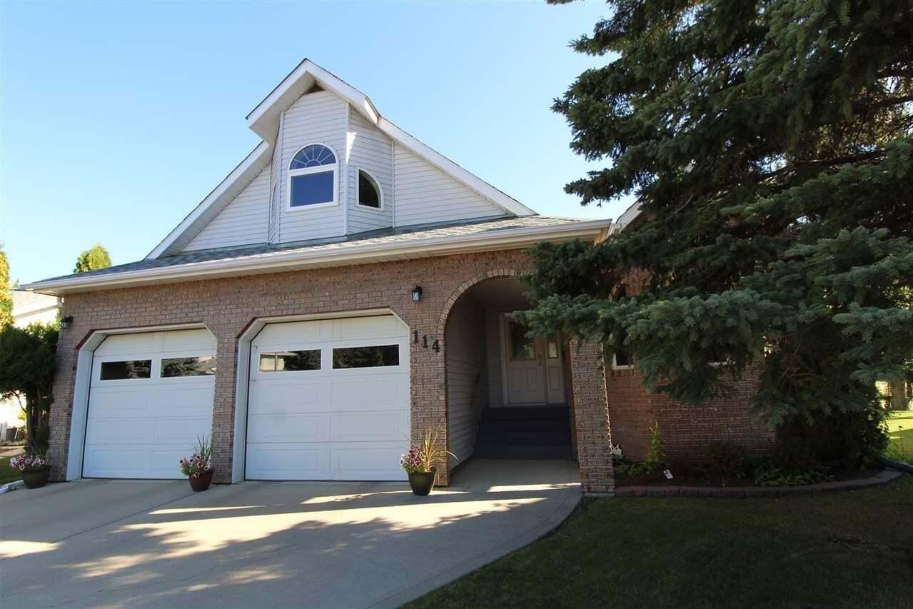House for sale at 114 Aspen Ridge Cr Wetaskiwin Alberta - MLS: E4213752