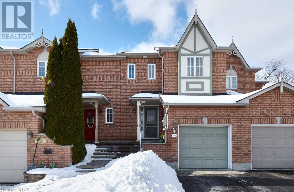 Townhouse for sale at 114 Gadwall Ave Barrie Ontario - MLS: 242236