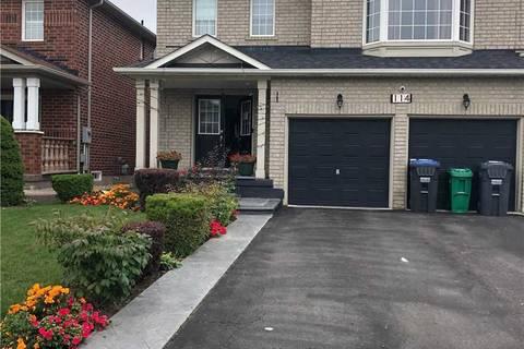 House for rent at 114 Luella Cres Brampton Ontario - MLS: W4577478