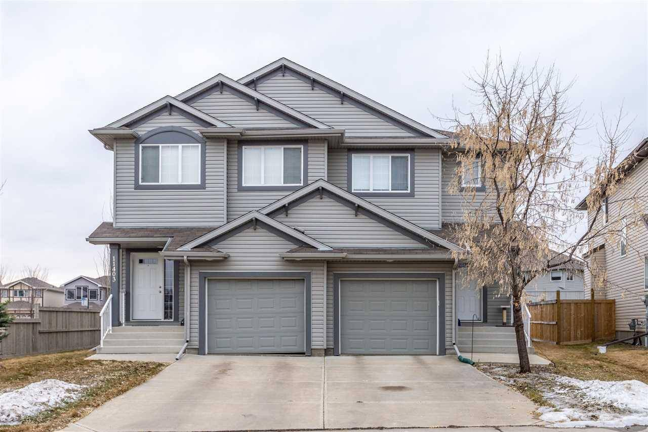 Townhouse for sale at 11405 13 Ave Sw Edmonton Alberta - MLS: E4187755