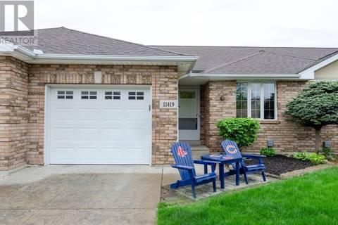 Townhouse for sale at 11419 Aldridge  Windsor Ontario - MLS: 19018496