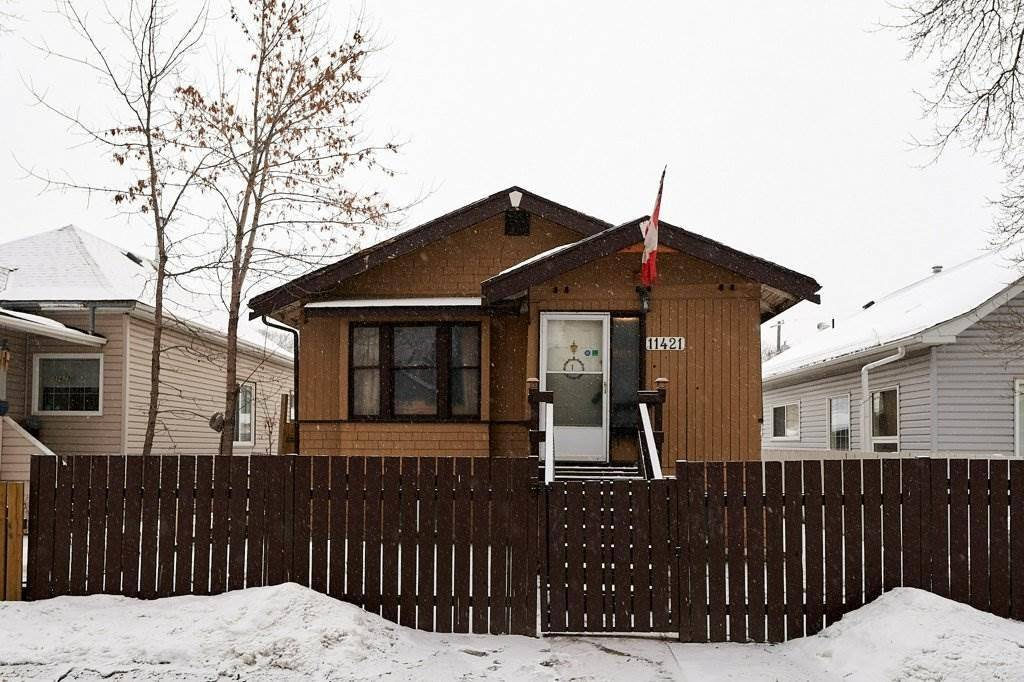House for sale at 11421 92 St Nw Edmonton Alberta - MLS: E4190928