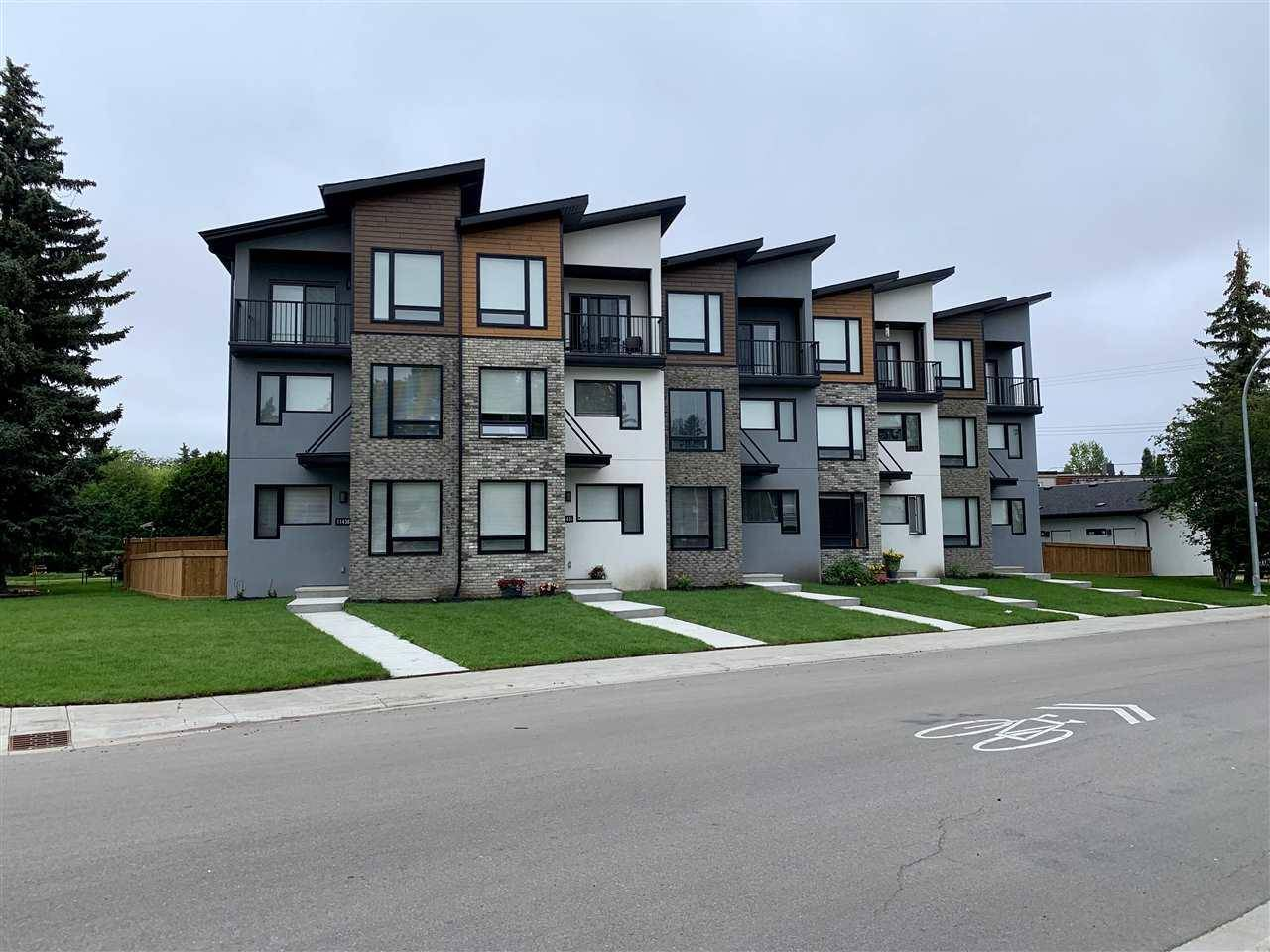 Townhouse for sale at 11438 109 Ave Nw Unit 11430 Edmonton Alberta - MLS: E4169547