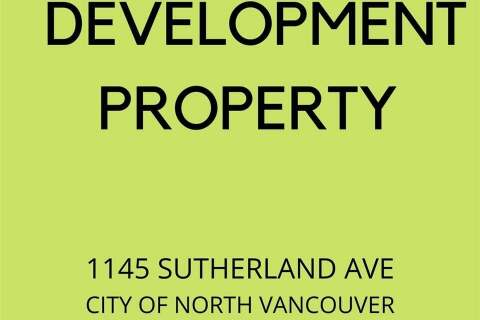 House for sale at 1145 Sutherland Ave North Vancouver British Columbia - MLS: R2476708