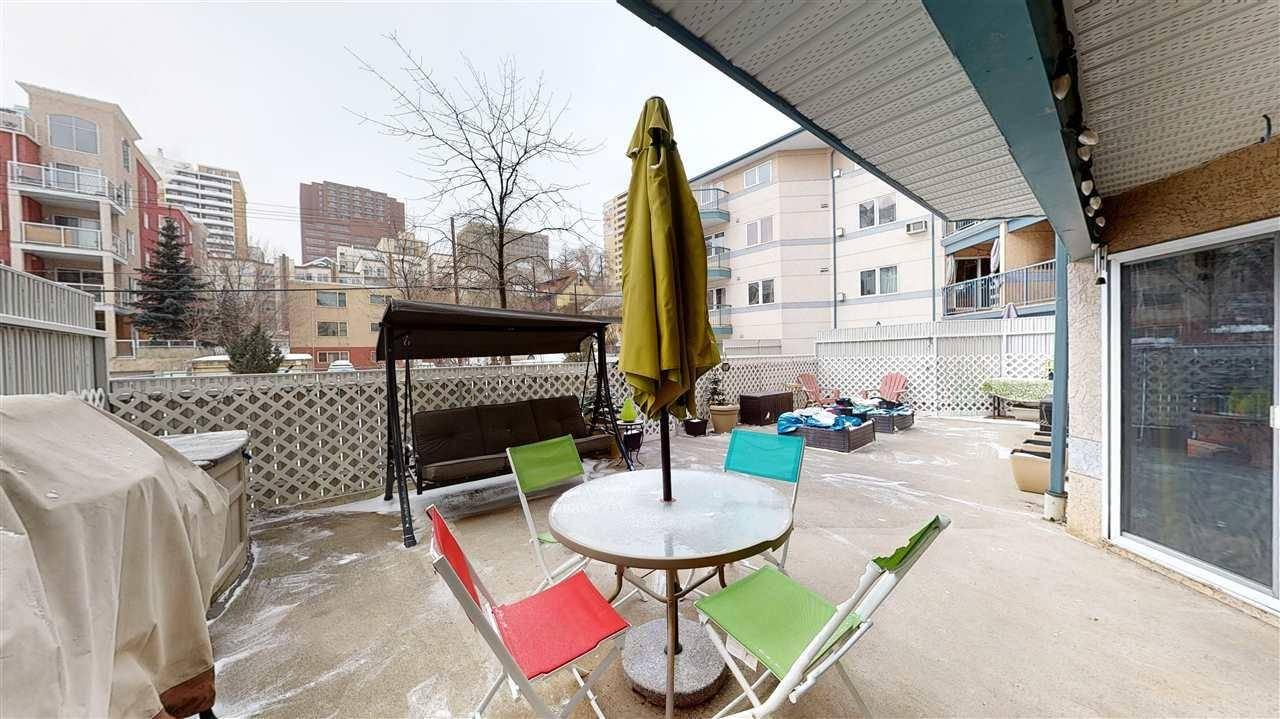 Condo for sale at 10403 98 Ave Nw Unit 115 Edmonton Alberta - MLS: E4192015