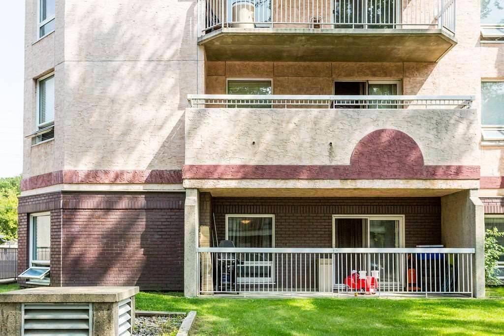 Condo for sale at 11211 85 St Nw Unit 115 Edmonton Alberta - MLS: E4182399