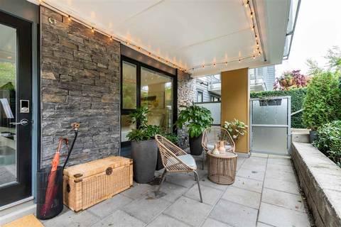 Condo for sale at 221 3rd St E Unit 115 North Vancouver British Columbia - MLS: R2423828