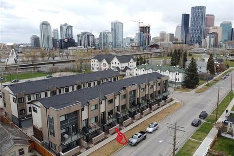 Townhouse for sale at 28 Mcdougall Ct Northeast Unit 115 Calgary Alberta - MLS: C4295892
